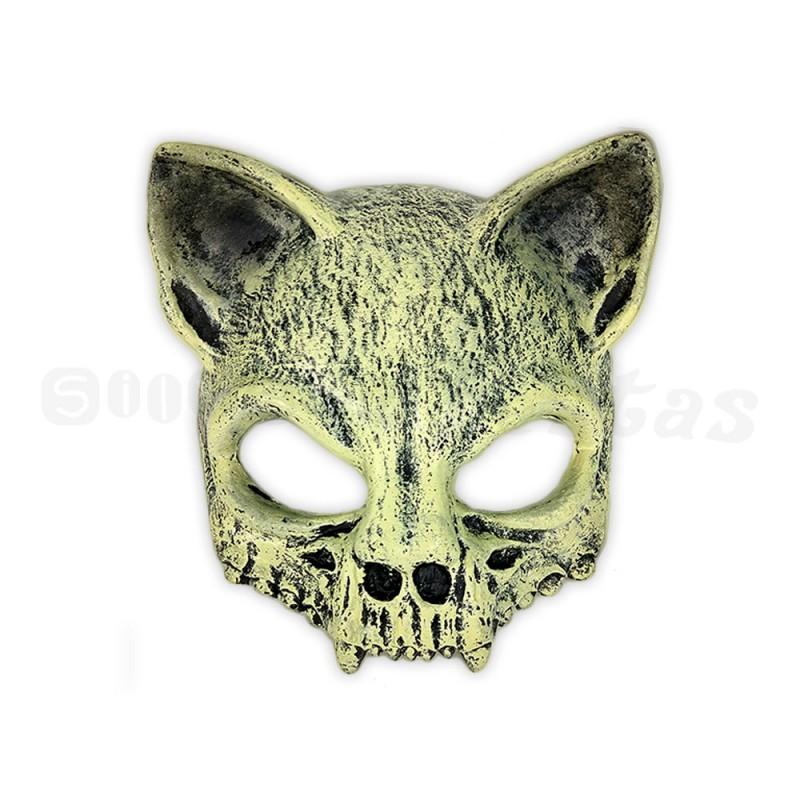 Máscara Crânio • Gato • Halloween