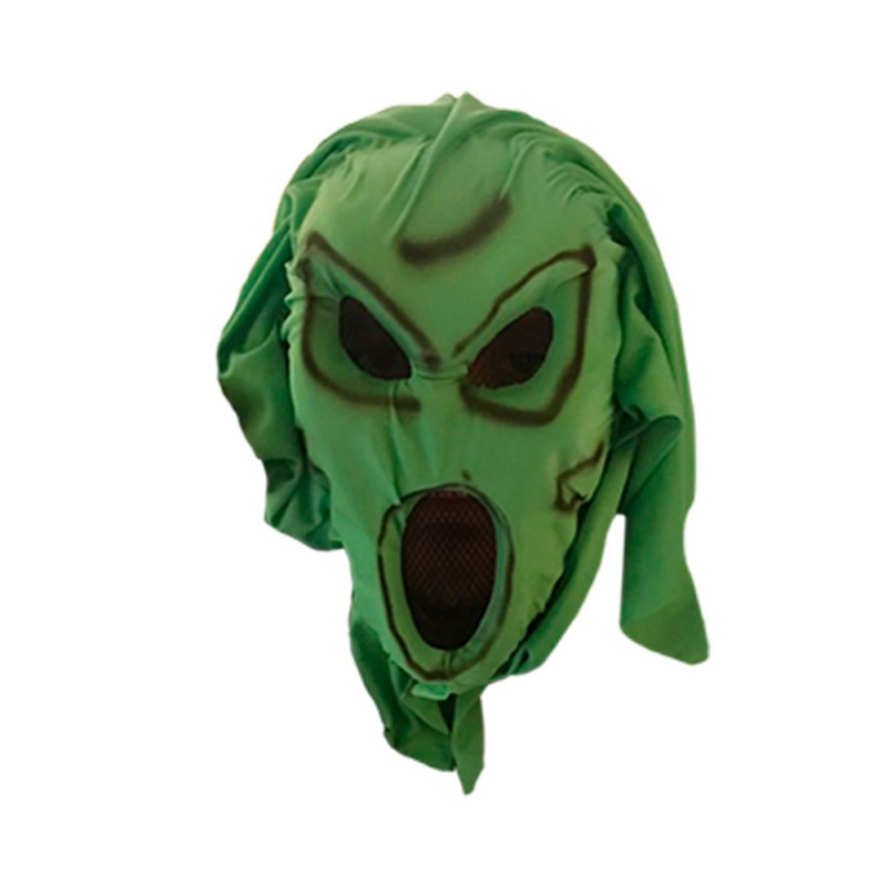 Máscara Assustadora • Verde • Halloween