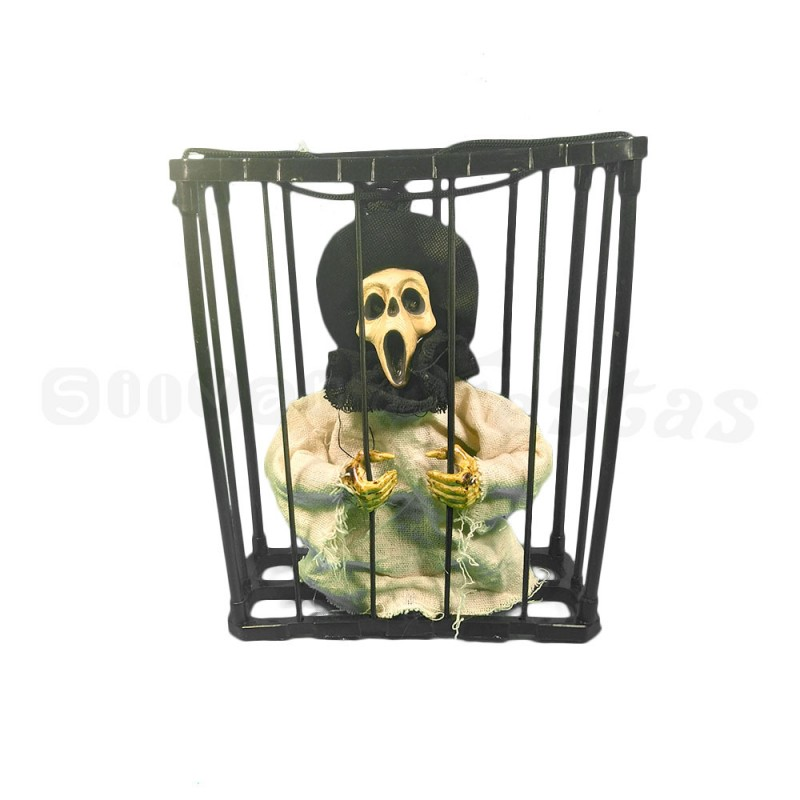 Esqueleto Presidiario • Eletrônico•Halloween