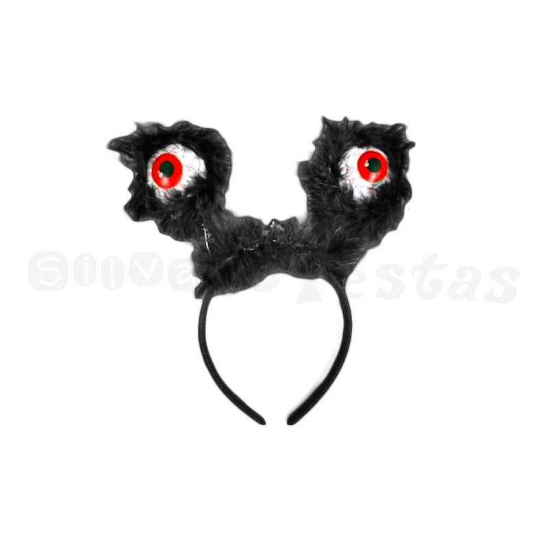 Tiara com Olhos • Vermelho • Eletrônica • Halloween