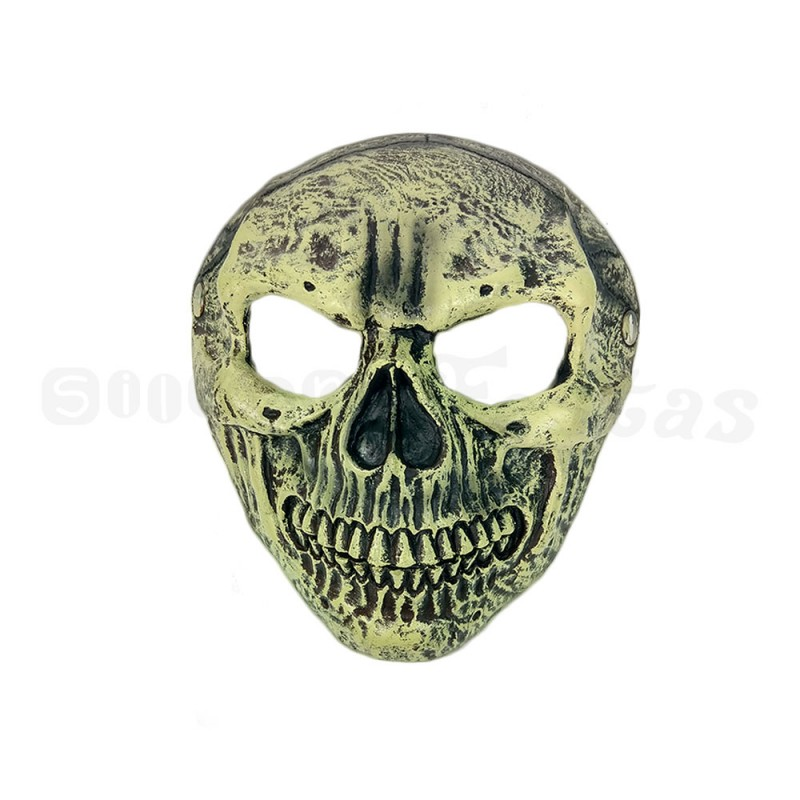 Máscara Crânio Rachado • Halloween