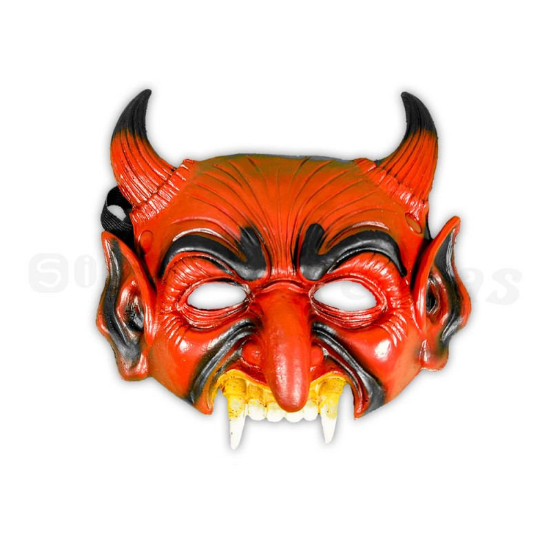 Máscara • Demônio • Halloween