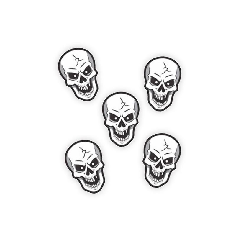 Apliques Caveiras Halloween - 5Un - Piffer