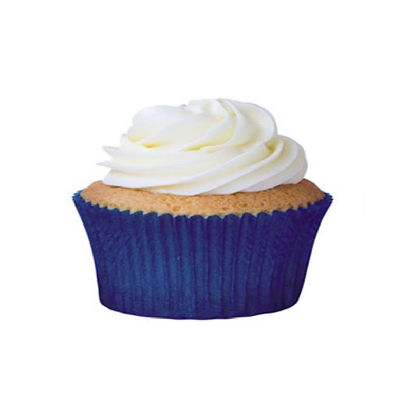 Forma para Mini Cupcake • Azul Royal • 45un • Mago