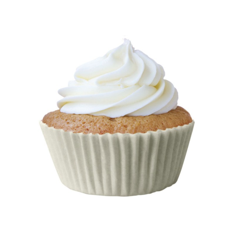 Forminha para Cupcakes • Branca • 100un • Mago