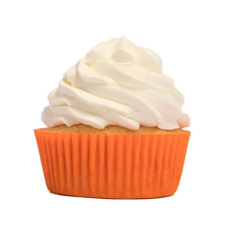 Forma para Mini Cupcake • Laranja • 45un • Mago