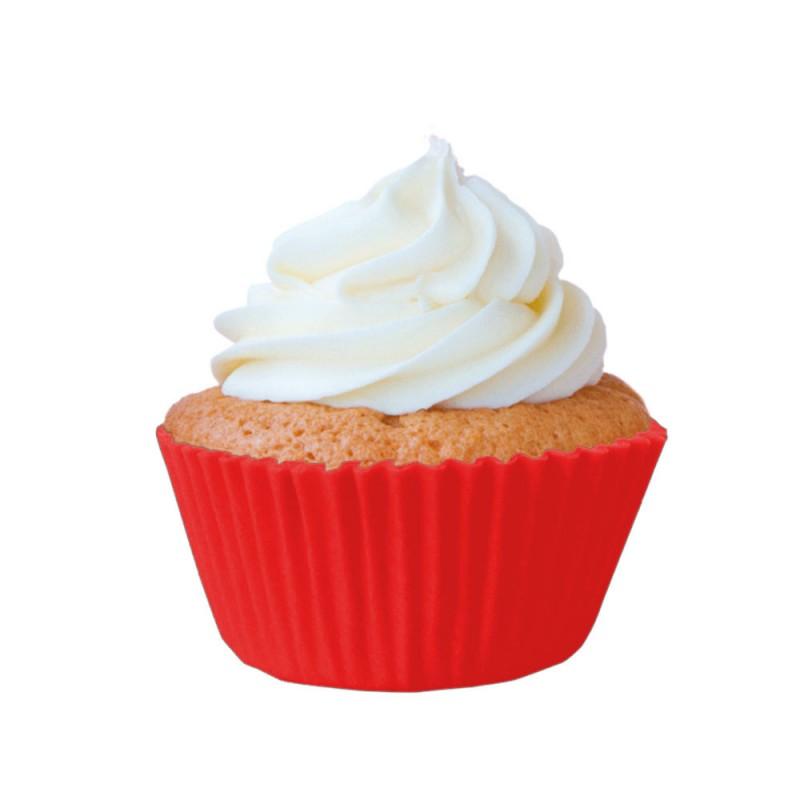Forminha para Cupcakes • Vermelha • 45un • Mago