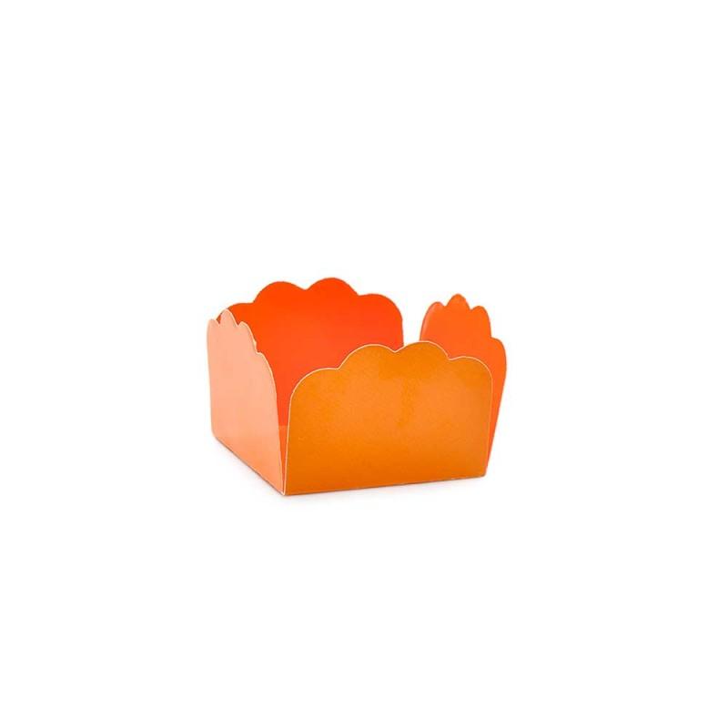 Forminha para doces• Laranja• 50un • CROMUS