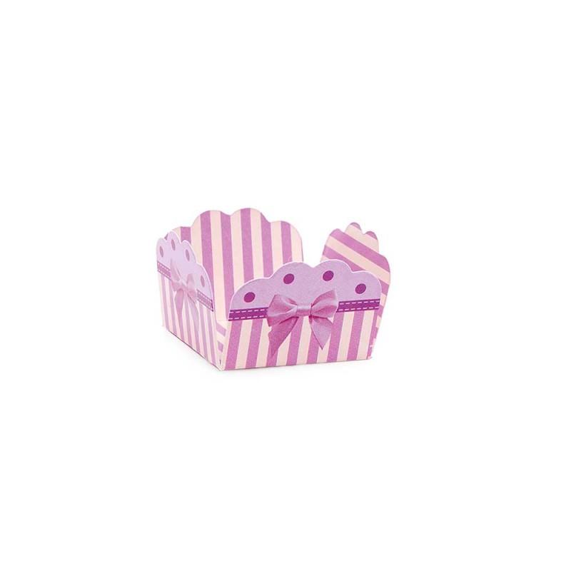 Forminha para doces• Laço Lilas• 50un.• CROMUS