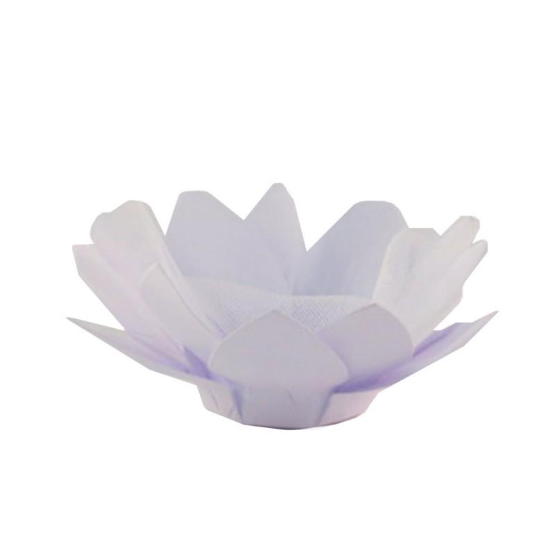 Forminha para doces • Flor• Branco • 30un.