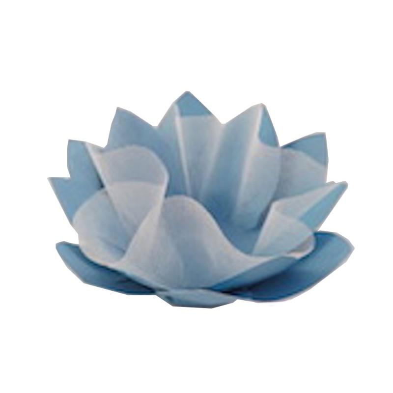 Forminha para doces • Flor• Azul • 30un.