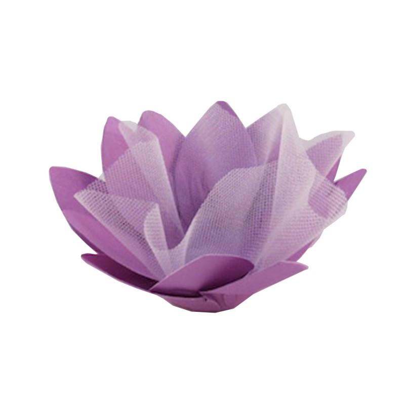 Forminha para doces • Flor• Lilas • 30un.