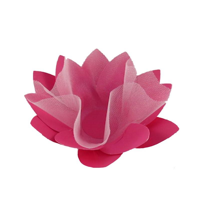 Forminha para doces • Flor• Pink • 30un.