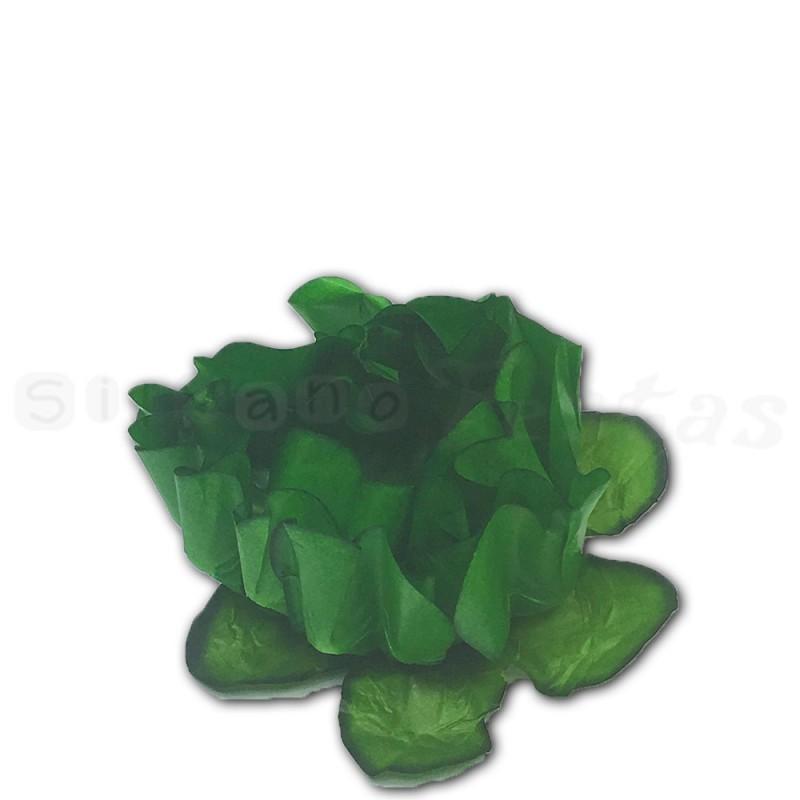 Forminha para doces •40un.• Verde Escuro • Decora Doces