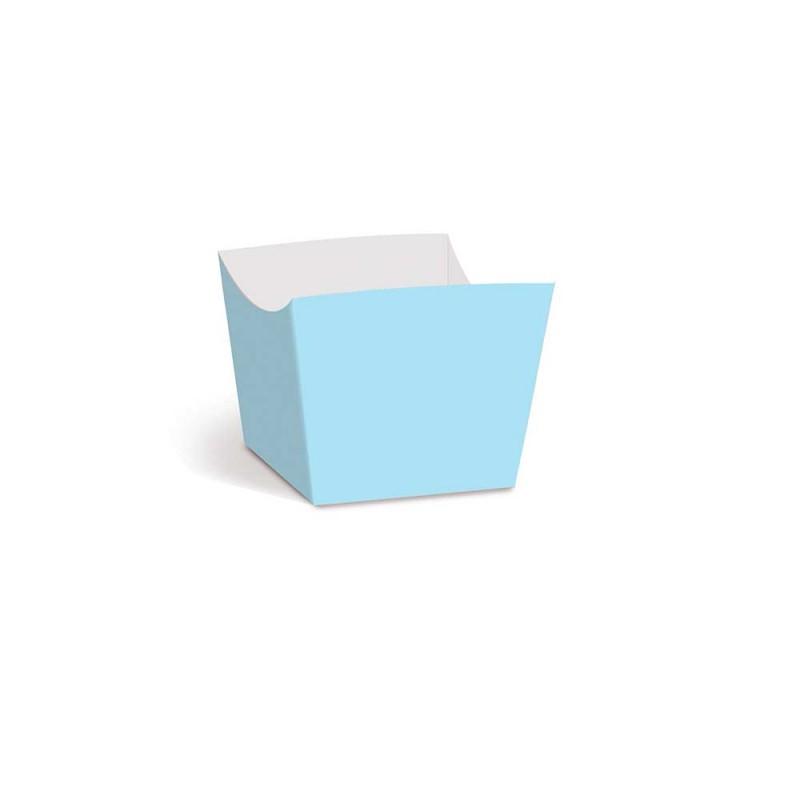 Forminha para doces • Mini• Lisa Azul Bebê • 36un • CROMUS