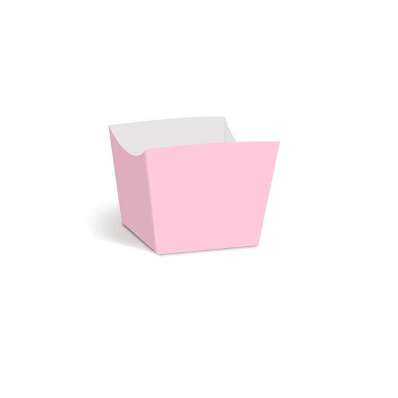 Forminha para doces • Mini• Lisa Rosa Bebê • 36un • CROMUS