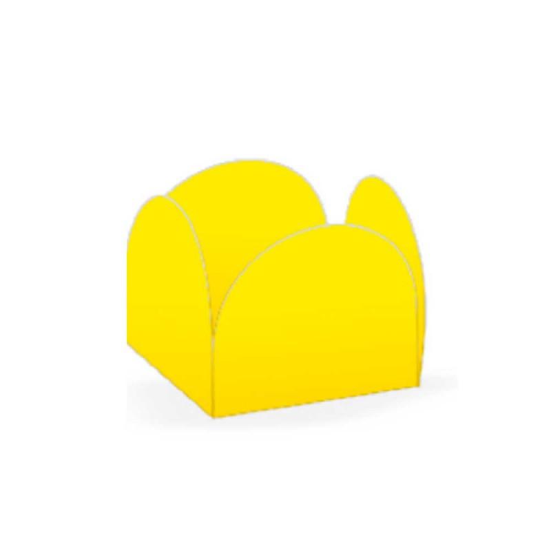 Forminha Quatro Pétalas • 50un. • Amarelo • NC TOYS