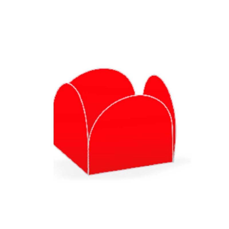 Forminha Quatro Pétalas • 50un • Vermelho • NC TOYS