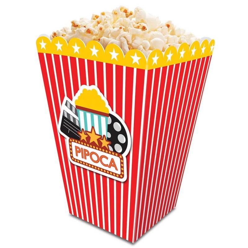 Caixa Pipoca Cinema •  Listrada • Junco