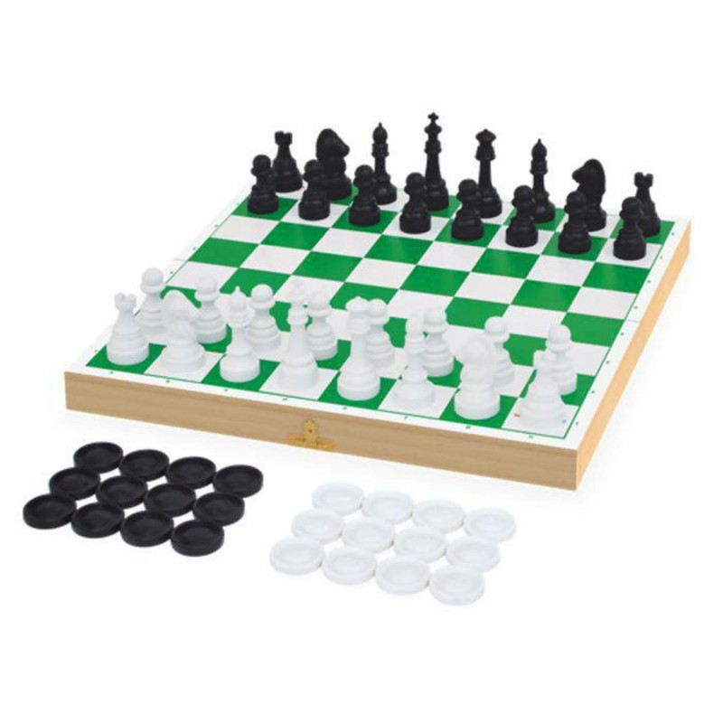 Jogo de Xadrez ou Dama - Junges