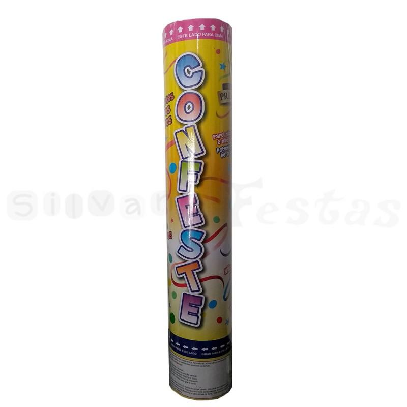 Lança Confetes • Papel Laminado • Colorido