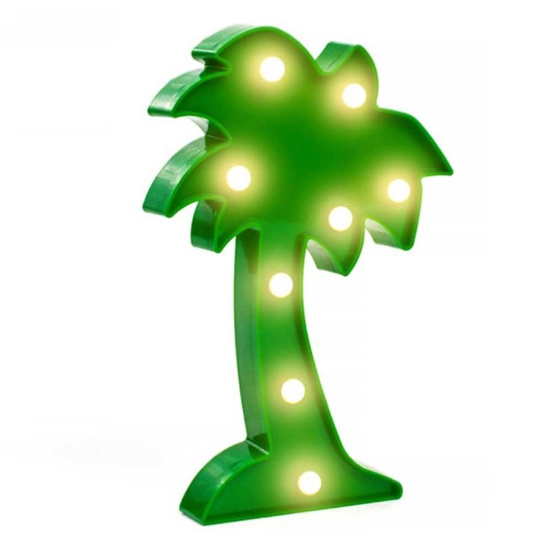 Luminária Coqueiro Tropical