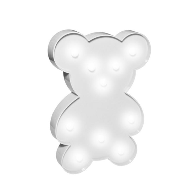 Luminária de Urso • Branca