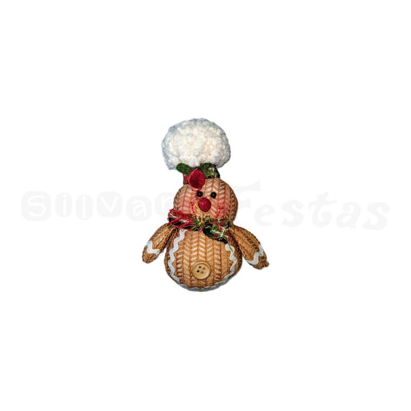 Boneco Biscoito • Menino • Natal