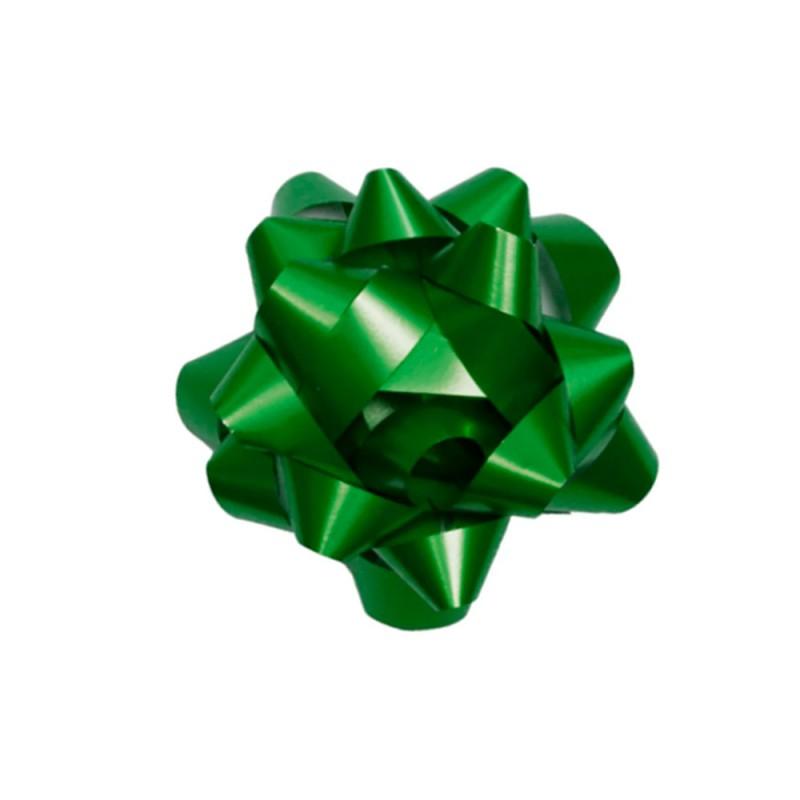 Laço Adesivado • Verde • Pequeno • Cromus