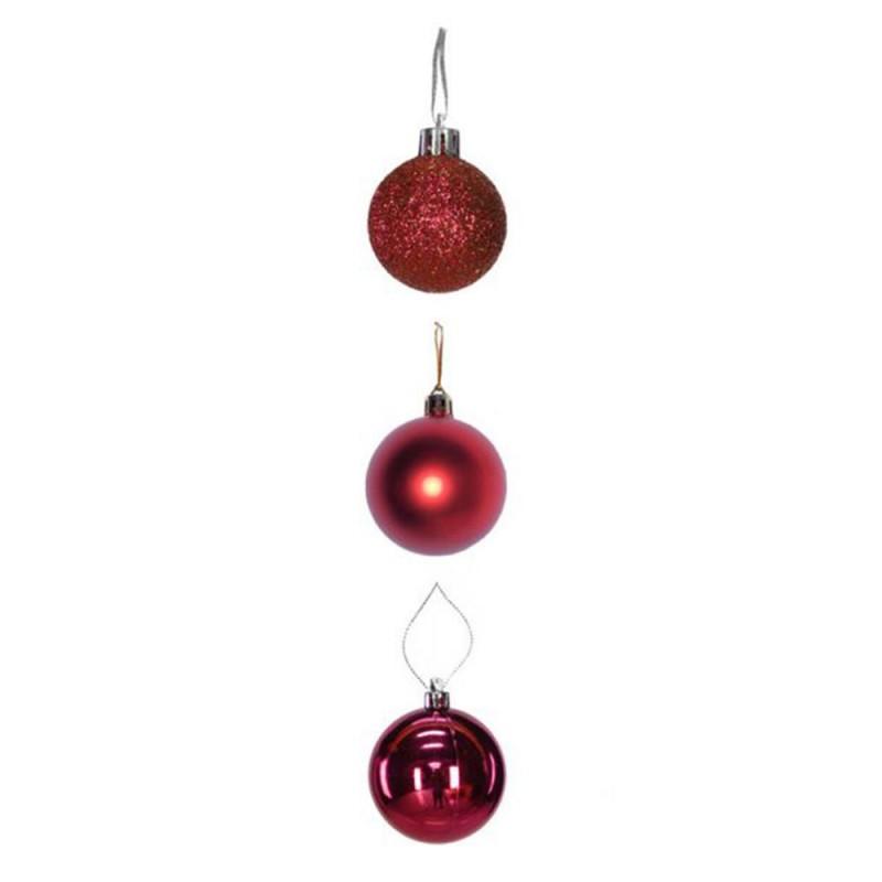 Bola • Vermelho • 6 un • Média • Natal