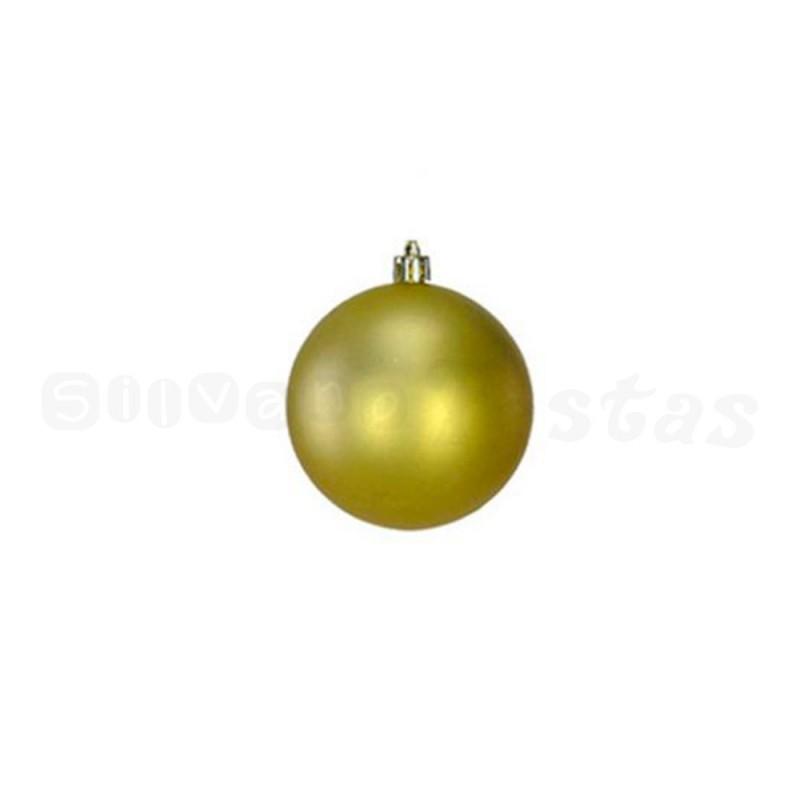 Bola • Dourado • 9 un • Pequeno • Natal