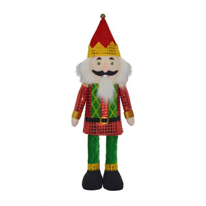Boneco • Soldado com Gorro • Verde Vermelho • Natal