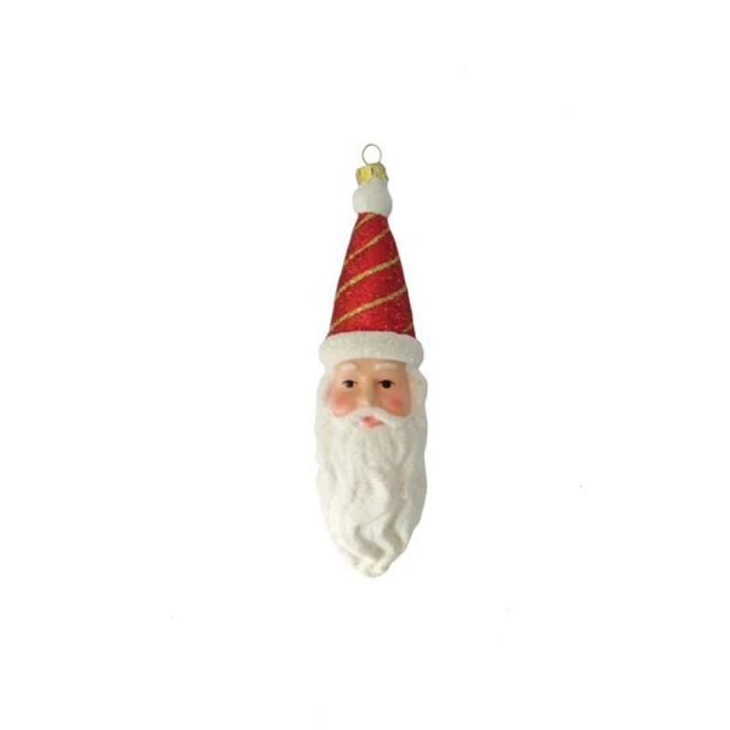 Cabeça Papai Noel • Glitter