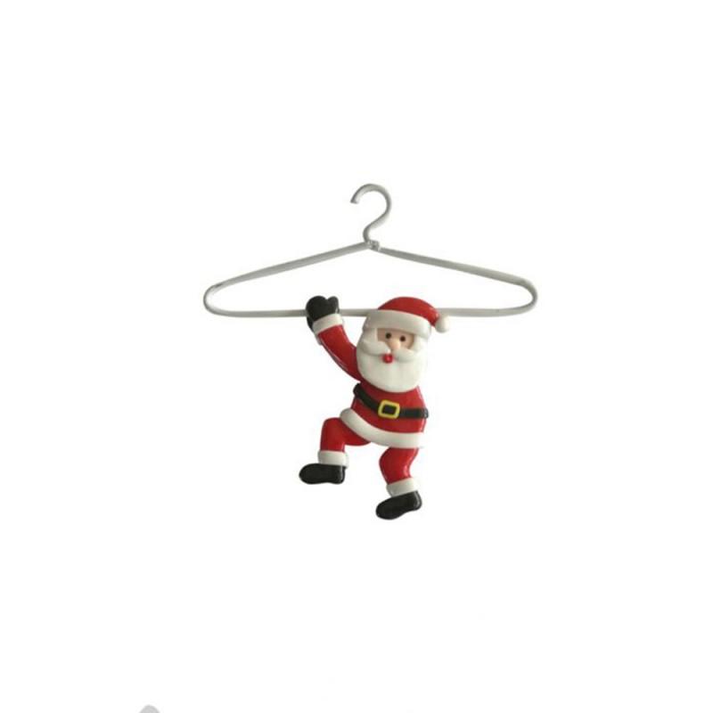Enfeite • Papai Noel no Cabide • Natal