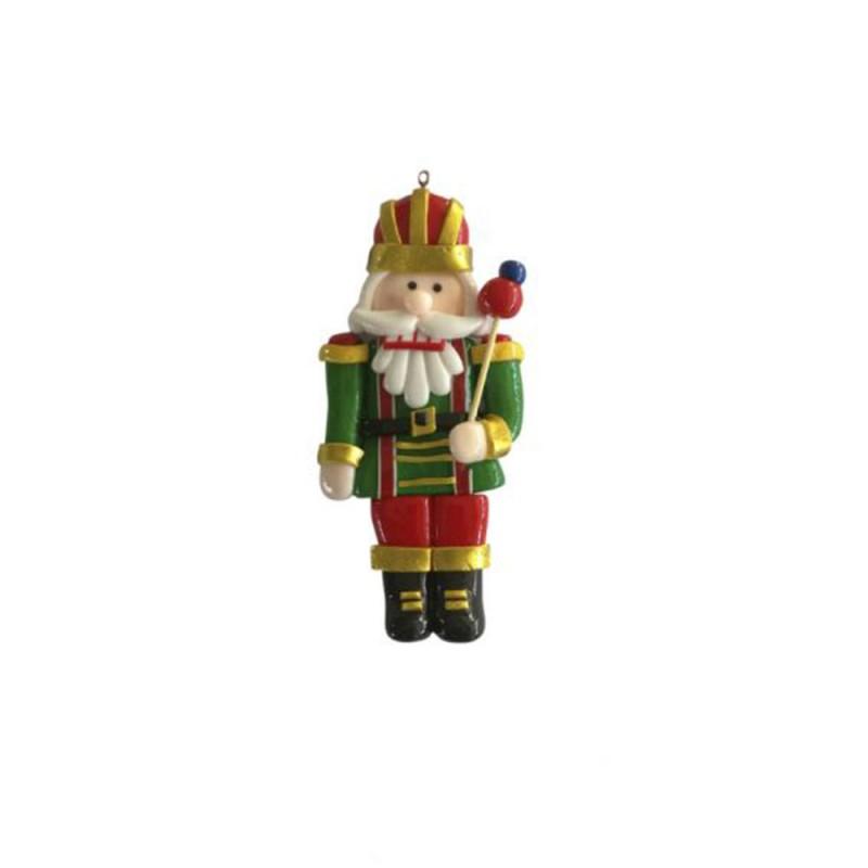 Enfeite • Soldadinho de Chumbo • Segurando Espeto • Natal