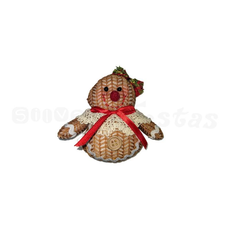 Boneco Biscoito • Pendurar • Natal