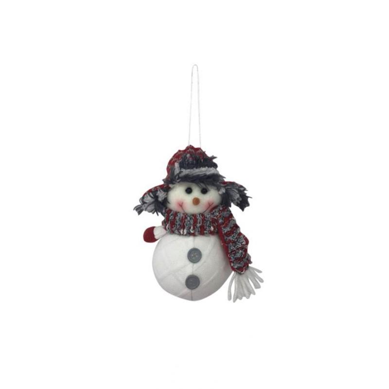 Bola • Boneco de Neve • Natal