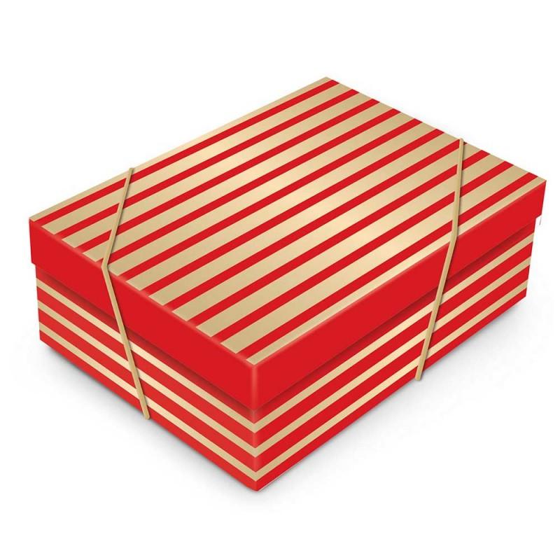 Caixa Grande com Elástico • Retangular