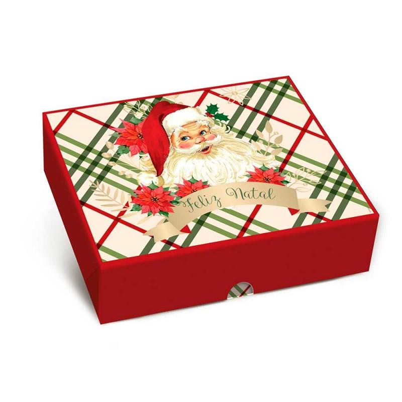 Caixa Baixa • Retangular • Feliz Natal