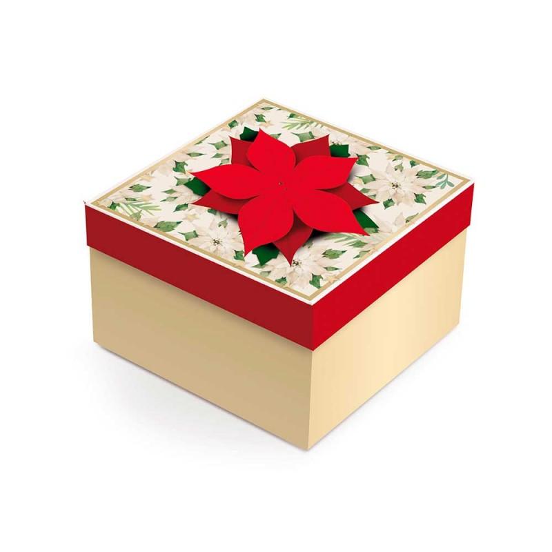 Caixa Pequena com Aplique • Flor