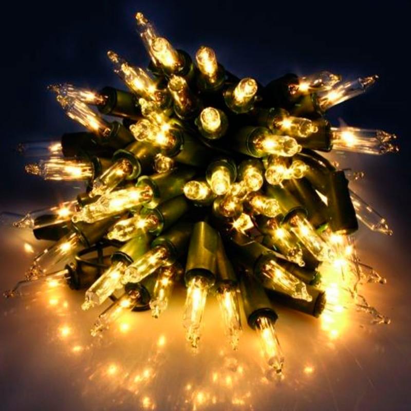 100 Lâmpadas • Varal de Luzes • Amarelo • 6,3 metros