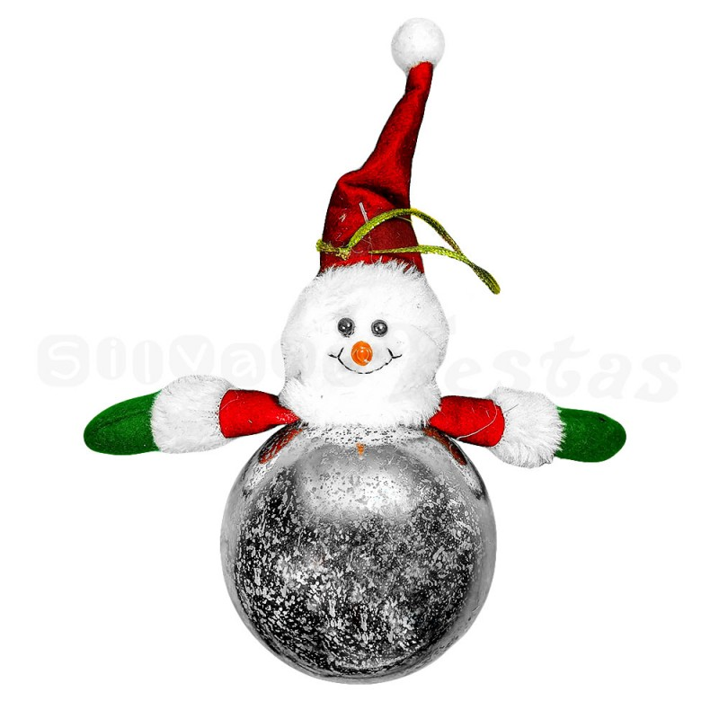 Bola • Boneco de Neve • Luminoso