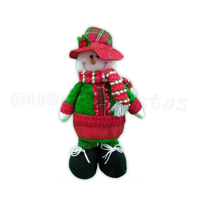 Boneco de Neve • Verde Vermelho • Natal