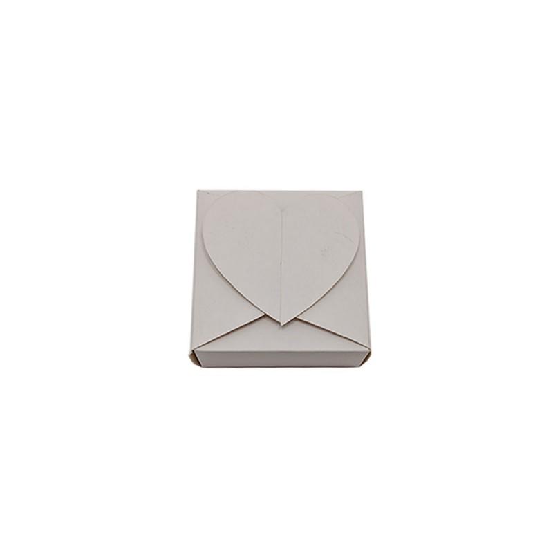 Caixa Coração Relevo • 6,5cm X 6,5cm