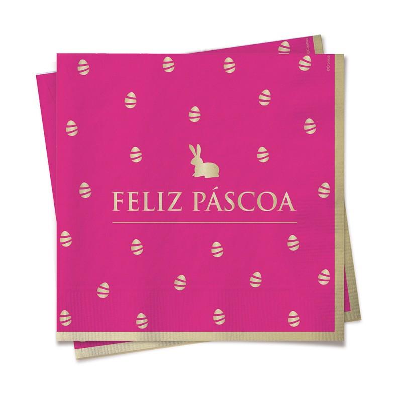 Guardanapo • 20un • Rosa • Páscoa