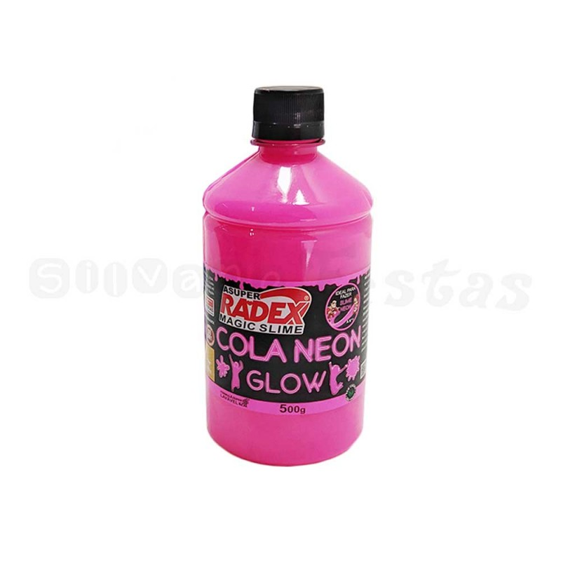 Cola Neon Glow • Pink • Slime
