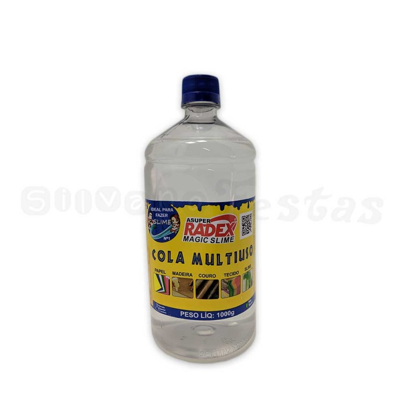 Cola Multiuso • Clear • Slime • 1kg