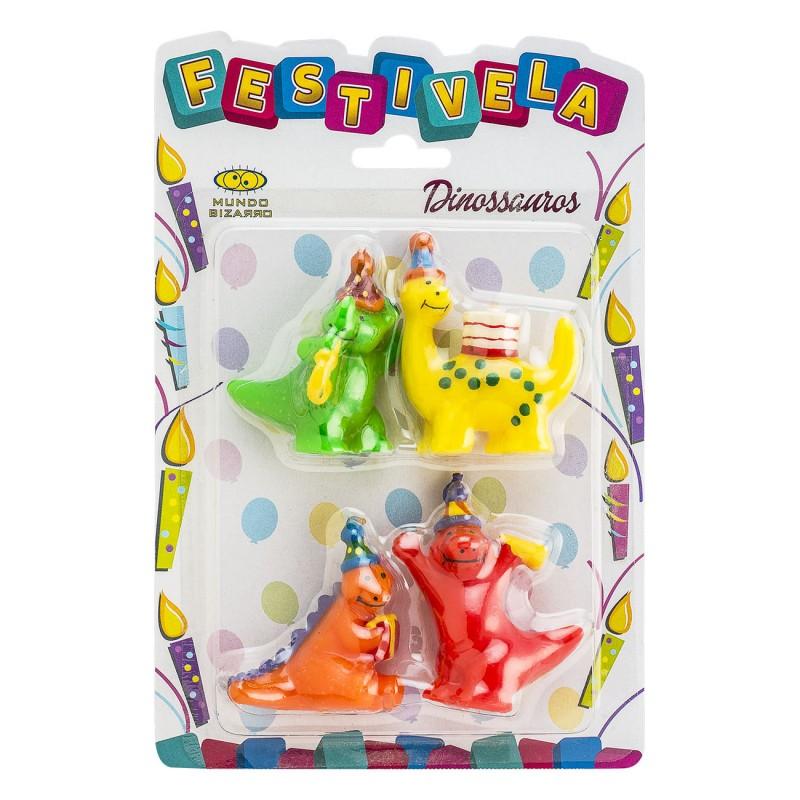 Kit Vela • Dinossauros • FESTIVELA