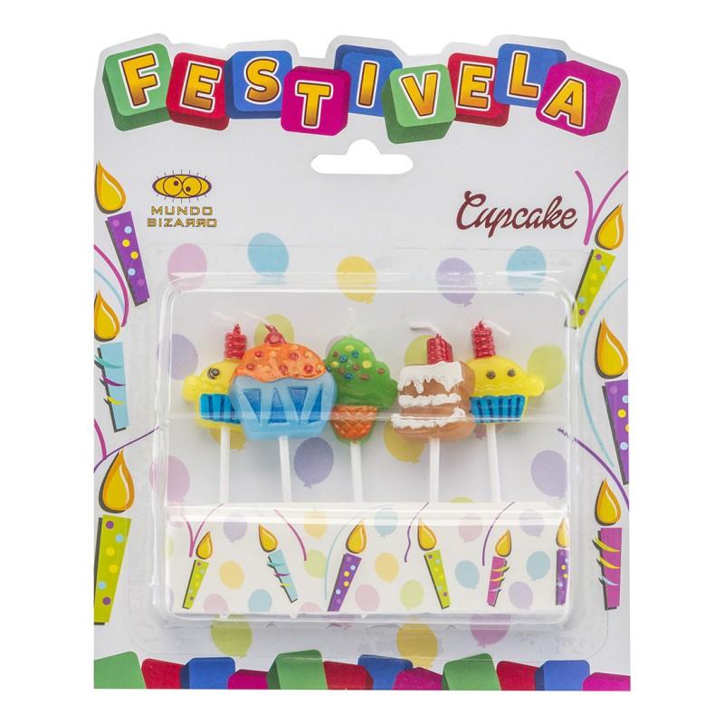 Kit Vela • Cupcake • FESTIVELA
