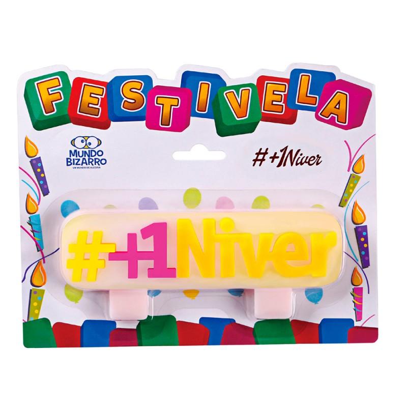 Vela Hashtag - #+1Niver • FESTIVELA